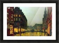 Boar Lane, Leeds Picture Frame print