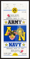 1983 Army vs. Navy Picture Frame print