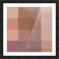 Squares Picture Frame print