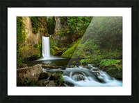 Native Flow Picture Frame print