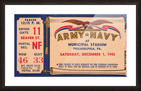 1945 Army Navy Game of the Century Picture Frame print