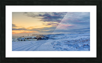 The Colour of Winter Picture Frame print