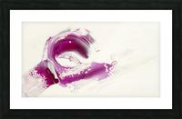 Magenta Sunrise Picture Frame print