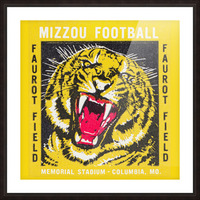 1977 Mizzou Football Picture Frame print