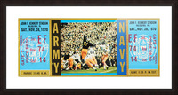 1970 Army vs. Navy Picture Frame print