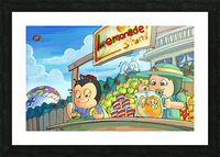 Lemonade Stand - Bugville Critters Picture Frame print