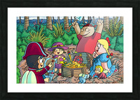 Hidden Treasure - Pirates - Bugville Critters Picture Frame print