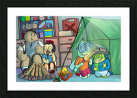 Blanket Fort - Bugville Critters Picture Frame print