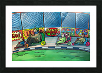 Go Karts - Bugville Critters Picture Frame print