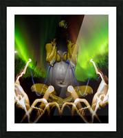 AURORA LANDING Picture Frame print