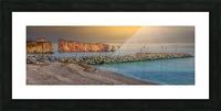 Rocher Perce et son Quai Impression et Cadre photo