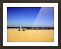 Oregon Coast   Golden Sands Picture Frame print