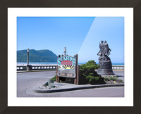Seaside Oregon   Snapshot in Time Picture Frame print
