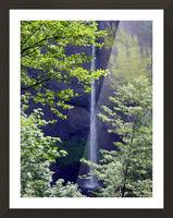 Secret Falls Picture Frame print