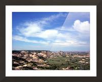 Badlands 2 Picture Frame print