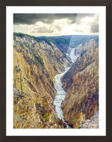 Mighty Yellowstone 5 Picture Frame print