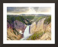Mighty Yellowstone Picture Frame print