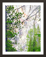 Mighty Yellowstone 4 Picture Frame print