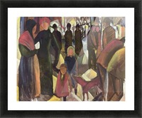 Resignation by Macke Picture Frame print