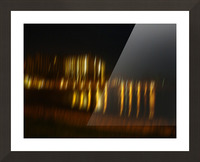 Lights Picture Frame print