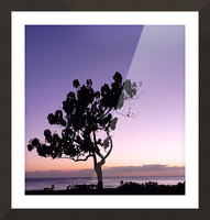 Silhouette Picture Frame print