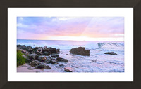 Rocky Coast Picture Frame print