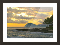 Beautiful Hawaii Picture Frame print