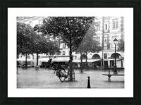 Place du Marche Sainte Catherine Picture Frame print