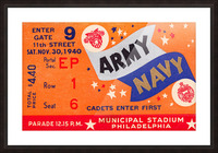 1940 Army Navy Game Picture Frame print