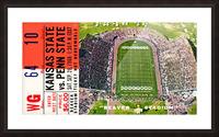 1968 Penn State vs. Kansas State Picture Frame print