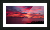 The Fires of Heaven Picture Frame print