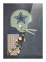 1976 Dallas Cowboys Wall Art Picture Frame print