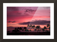 Ease into the Night Picture Frame print