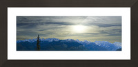 Hike Colorado Picture Frame print