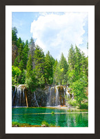 Back Country Waterfalls Picture Frame print