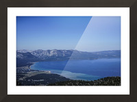 Lake Tahoe View Picture Frame print