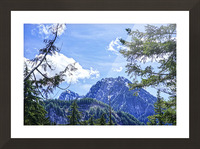 The Cascades Picture Frame print