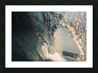 Crystal wave Picture Frame print