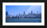 Blue Skies over San Francisco  Picture Frame print