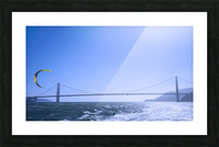 Wind Surf the Bay @ San Francisco Picture Frame print