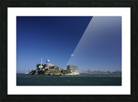 Alcatraz   The Rock @ San Francisco Bay Picture Frame print