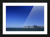 The Bay @ San Francisco Picture Frame print