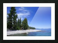Spring at Lake Tahoe 2 of 7 Picture Frame print