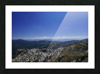 View from the Top @ Lake Tahoe Picture Frame print