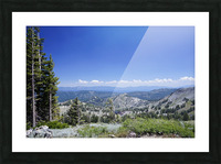 Sierra Nevada in Spring 2 of 8 Picture Frame print