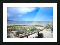 The Great Salt Lake 1 of 7 Picture Frame print