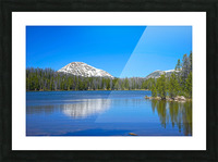 On The Road to Mirror Lake 5 of 5 Picture Frame print