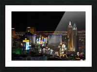 Viva Las Vegas Picture Frame print