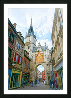 Auxerre France Snapshot in Time Picture Frame print