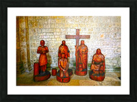 Basilica of Sainte Marie Madeleine 5 of 5 @  Vezelay France Picture Frame print